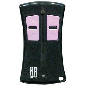 HR Matic RF Afstandsbediening 433.92 MHz Zwart / Roze