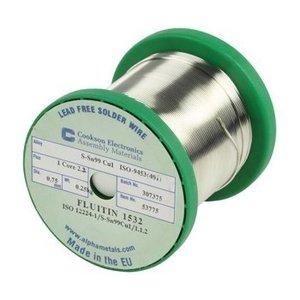 Cookson Electronics Soldeertin 0.75 mm 250 g