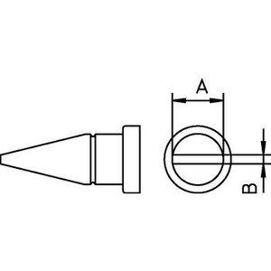 Weller Soldeerstift Beitelvormig 4.6 mm