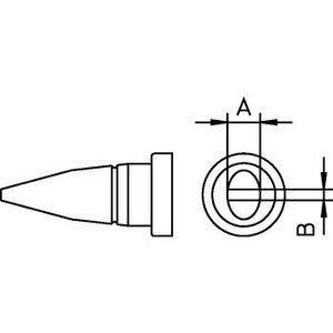 Weller Soldeerstift Beitelvormig 2.4 mm