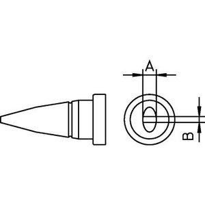 Weller Soldeerstift Beitelvormig 1.6 mm