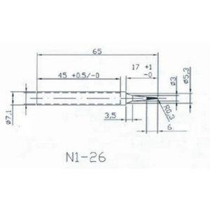 HQ Soldeertip 0.3 mm Rond