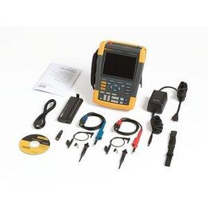 Fluke Handheld Oscilloscope ScopeMeter 2x200 MHz 2.5 GS/s