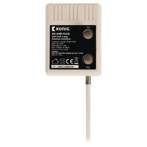 König CATV Plug-In Versterker 10 dB 2 Uitgangen