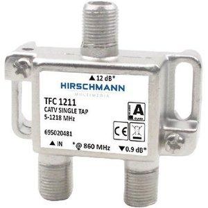 Hirschmann CATV Splitter 1.2 dB / 5-1218 MHz - 1 Uitgang
