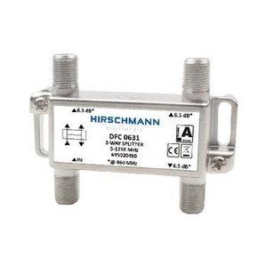 Hirschmann CATV Splitter 5.8 dB / 5-1218 MHz - 3 Uitgangen
