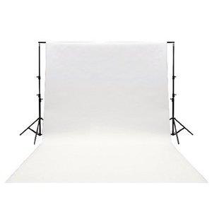 König Studio Achtergrond 295 x 295 cm Wit