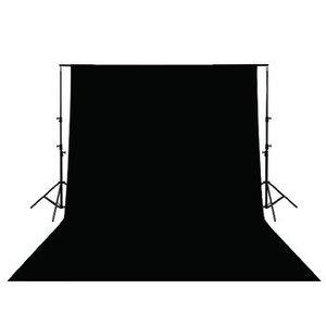 König Studio Achtergrond 295 x 295 cm Zwart