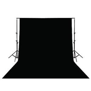 König Studio Achtergrond 190 x 295 cm Zwart