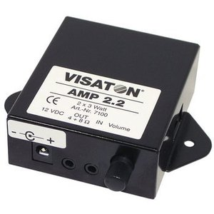 Visaton Stereo amplifier with level controls