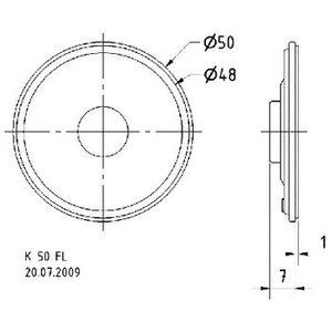 """Visaton Miniatuur luidspreker 5 cm (2"""") 16 Ohm"""