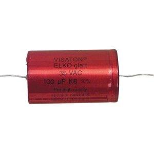 Visaton Bipolaire Capacitor 82 uF 63 VDC