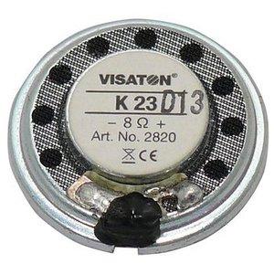 "Visaton Small speaker 2.3 cm (0.9"") 8 Ω 0.5 W"