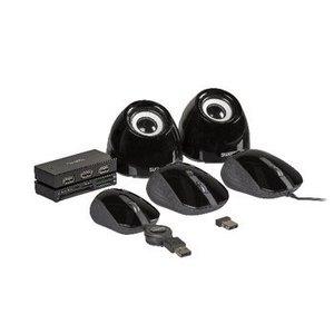 Sweex Speaker 2.0 USB 3.5 mm 6 W Zwart