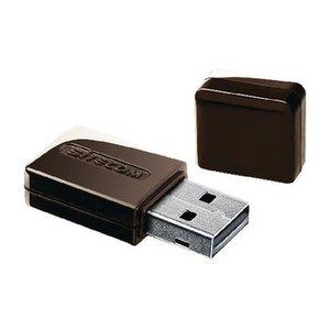 Sitecom Draadloze USB-Adapter N300 2.4 GHz Zwart / Metaal