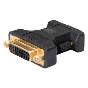 König VGA Adapter VGA Male - DVI-I 24+5-Pins Female Antraciet