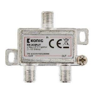 König CATV Splitter 4.2 dB / 5-1218 MHz - 2 Uitgangen