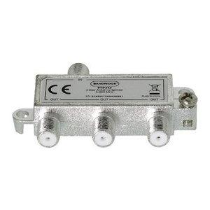 Bandridge CATV Splitter / 5-900 MHz - 3 Uitgangen