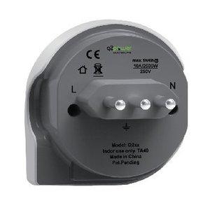 Q2 Power Reisadapter Wereld-naar-Italië Geaard