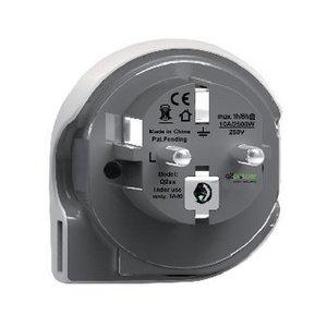 Q2 Power Reisadapter Wereld-naar-Europa USB Geaard