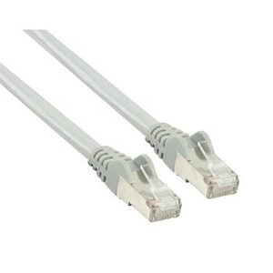 Valueline CAT6 F/UTP Netwerkkabel RJ45 (8/8) Male - RJ45 (8/8) Male 0.25 m Grijs