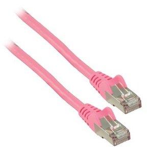Valueline CAT6 F/UTP Netwerkkabel RJ45 (8/8) Male - RJ45 (8/8) Male 0.25 m Roze