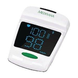 Medisana Saturatiemeter Bluetooth 4.0 Wit / Zwart