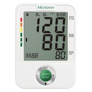 Medisana Bloeddrukmeter Bovenarm Wit / Grijs