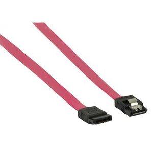 Valueline Interne SATA 1.5 Gb/s Kabel SATA 7-Pins Female - SATA 7-Pins Female 0.50 m Rood