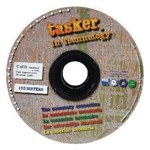 Tasker Datakabel op Haspel 8x 0.15 - 100 m Grijs