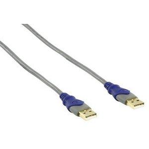 HQ USB 2.0 Kabel A Male - A Male 1.80 m Grijs