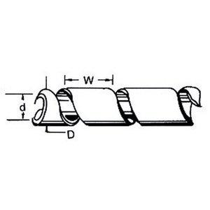 Fixapart Kabelslangen 65 mm 10.0 m Zwart