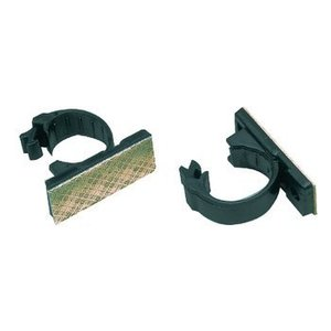 Valueline Kabelclips 9 mm Zwart