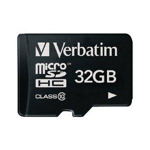 Verbatim microSDHC Geheugenkaart Klasse 10 32 GB