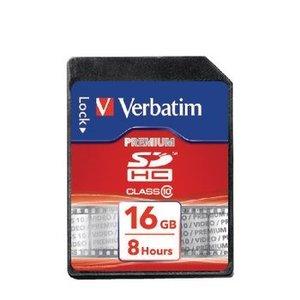 Verbatim SDHC Geheugenkaart Klasse 10 16 GB