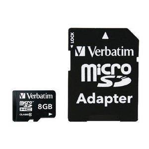 Verbatim miniSDHC Geheugenkaart Klasse 10 8 GB