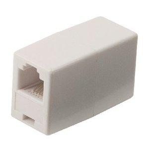 Valueline Telecom Adapter RJ11 (4/6) Male - RJ11 (4/6) Male Wit