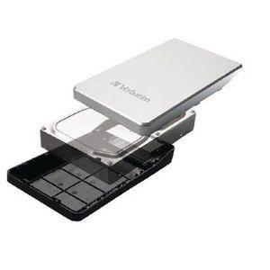 "Verbatim Harde Schijf Behuizing 3.5 "" SATA USB 3.0 Zilver"