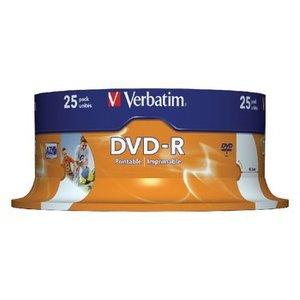 Verbatim DVD 4.7 GB 25 St