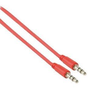 Valueline Stereo Audiokabel 3.5 mm Male - 3.5 mm Male 1.00 m Rood