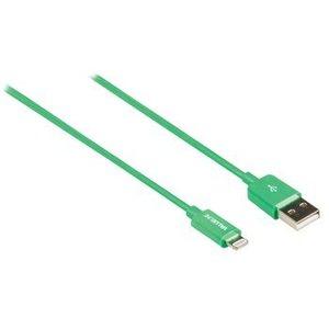 Valueline Data en Oplaadkabel Apple Lightning - A Male 1.00 m Groen