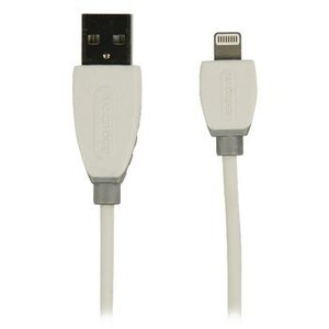 Bandridge Data en Oplaadkabel Apple Lightning - A Male 2.00 m Wit