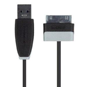 Bandridge Data en Oplaadkabel Samsung 30-Pins Male - A Male 1.00 m Zwart