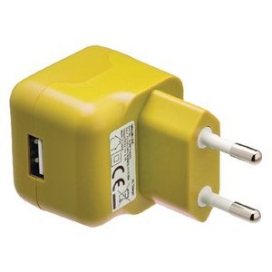 Valueline Lader 1 - Uitgang 2.1 A USB Geel