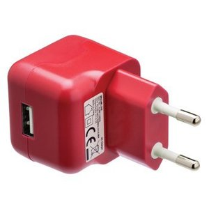 Valueline Lader 1 - Uitgang 2.1 A USB Rood