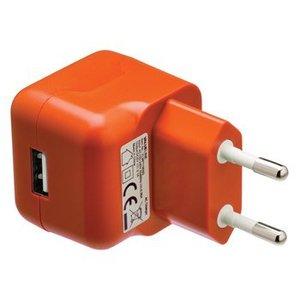 Valueline Lader 1 - Uitgang 2.1 A USB Oranje