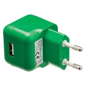 Valueline Lader 1 - Uitgang 2.1 A USB Groen