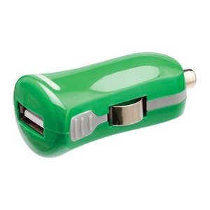Valueline Autolader 1-Uitgang 2.1 A USB Groen