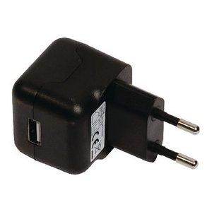 Valueline Lader 1 - Uitgang 2.1 A USB Zwart