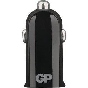 GP Autolader 1-Uitgang 2.4 A USB Zwart